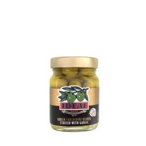 Chalkidiki Green Olives with garlic 350gr jar