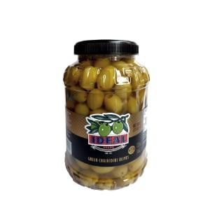 Chalkidiki Green Olives 2kg pot