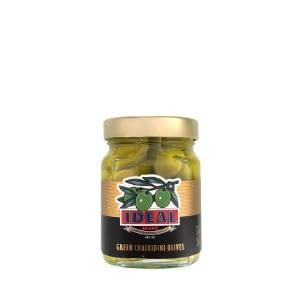 Chalkidiki Green Olives 350gr jar